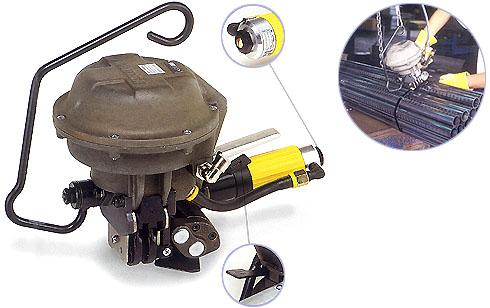 A482气动带扣钢带打包机